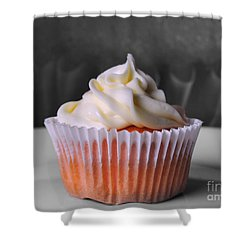 Cupcake II Shower Curtain by Jai Johnson