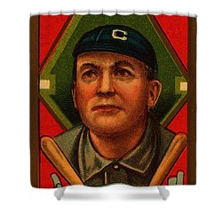 Cy Young 1911 Baseball Card Shower Curtain by Movie Poster Prints