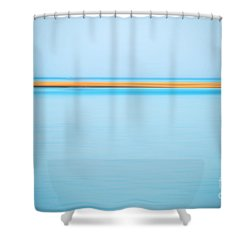 Dahab - Red Sea Shower Curtain by Hannes Cmarits
