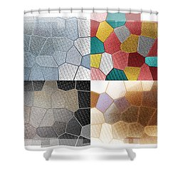 Dance Of Light Shower Curtain by Bill Cannon