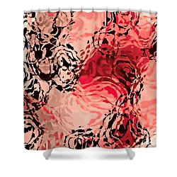 Dance Of Passion Shower Curtain by Tim Richards