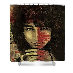 Danny Shower Curtain by Corporate Art Task Force