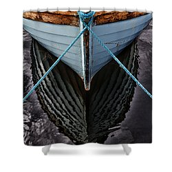 Dark Waters Shower Curtain by Stelios Kleanthous