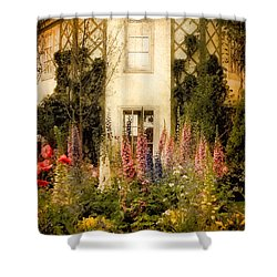Darwin's Garden Shower Curtain by Jessica Jenney