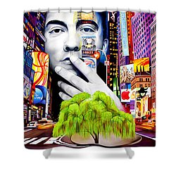 Dave Matthews Dreaming Tree Shower Curtain by Joshua Morton
