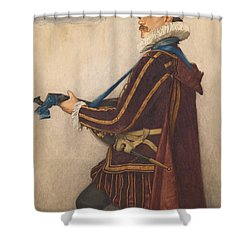 David Rizzio Shower Curtain by Sir James Dromgole Linton