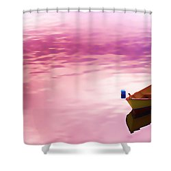 Dawns Light Reflected Shower Curtain by Jeff Folger
