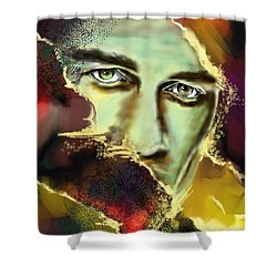 Dechire Shower Curtain by Francoise Dugourd-Caput