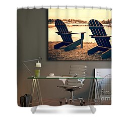 Decorating With Fine Art Photography Shower Curtain by Edward Fielding