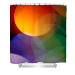 Deja Vu 1 Shower Curtain by Dazzle Zazz