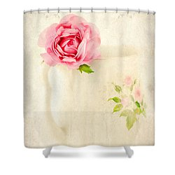Delicate Shower Curtain by Darren Fisher