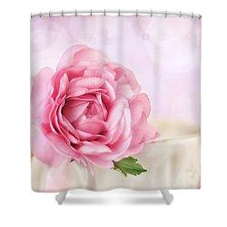 Delicate II Shower Curtain by Darren Fisher