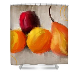 Delight Shower Curtain by Lourry Legarde