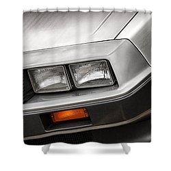 Delorean Dmc-12 Shower Curtain by Gordon Dean II