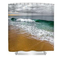 Desaturation Shower Curtain by Chad Dutson