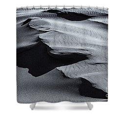 Desert Contours Shower Curtain by Mike  Dawson