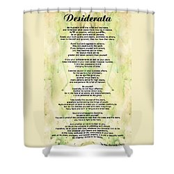 Desiderata 5 Words Of Wisdom Painting By Sharon Cummings