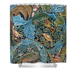 Design For Tapestry Shower Curtain by William Morris