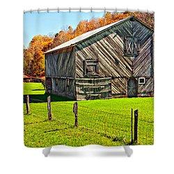 Designer Barn Shower Curtain by Steve Harrington