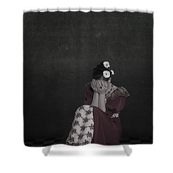 Desperate Shower Curtain by Joana Kruse
