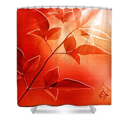 Destiny Shower Curtain by Holly Kempe