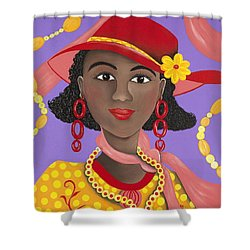 Determined Shower Curtain by Patricia Sabree