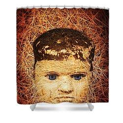 Devil Child Shower Curtain by Edward Fielding