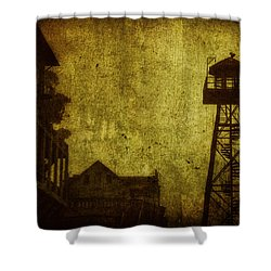 Diminished Dawn Shower Curtain by Andrew Paranavitana