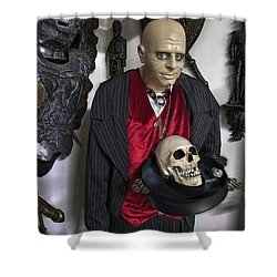 Dinner Is Served .... Shower Curtain by Daniel Hagerman