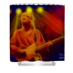 Dire Straits-4-fractal Shower Curtain by Gary Gingrich Galleries