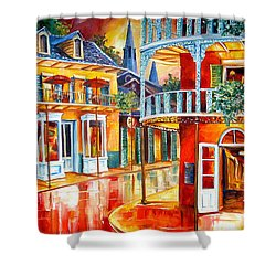 Divine New Orleans Shower Curtain by Diane Millsap