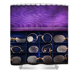 Doctor - Optometrist - Many Styles To Choose From  Shower Curtain by Mike Savad