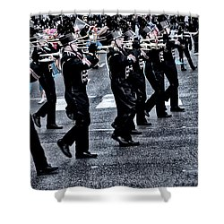 Don't Let The Parade Pass You By Shower Curtain by Bill Cannon