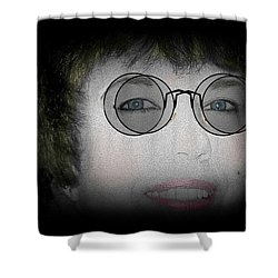 Double Vision Shower Curtain by Barbara S Nickerson