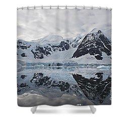 Doubleup... Shower Curtain by Nina Stavlund
