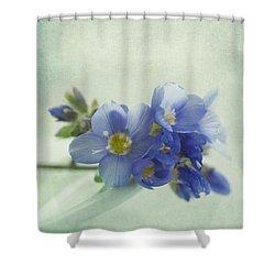 Douceur Shower Curtain by Priska Wettstein