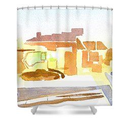 Dozing The Kozy    Shower Curtain by Kip DeVore