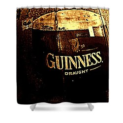 Draught  Shower Curtain by Chris Berry