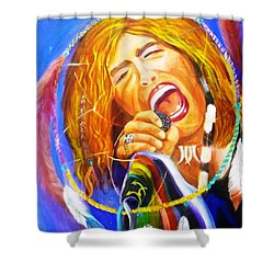 Dream Catcher Shower Curtain by To-Tam Gerwe