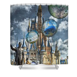 Dreamer Of Dreams Shower Curtain by Ryan Crane