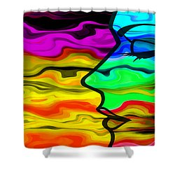 Dreaming 2 Shower Curtain by Angelina Vick
