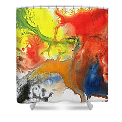 Dreaming Shower Curtain by Kume Bryant