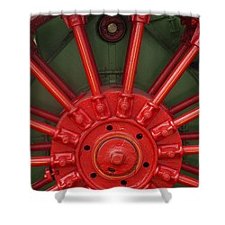 Drive Wheel Shower Curtain by Paul W Faust -  Impressions of Light