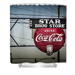 Drug Store Shower Curtain by Perry Webster