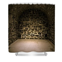 Dungeon Shower Curtain by Edward Fielding