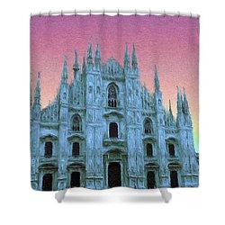 Duomo Di Milano Shower Curtain by Jeff Kolker