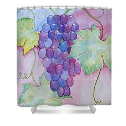 D'vine Delight Shower Curtain by Heidi Smith
