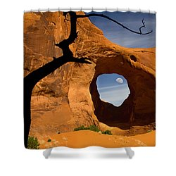 Ear Of The Wind Shower Curtain by Susan Candelario