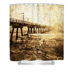 Early Morning 5 Shower Curtain by Skip Nall