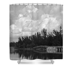 Early Morning Shower Curtain by Kim Hojnacki